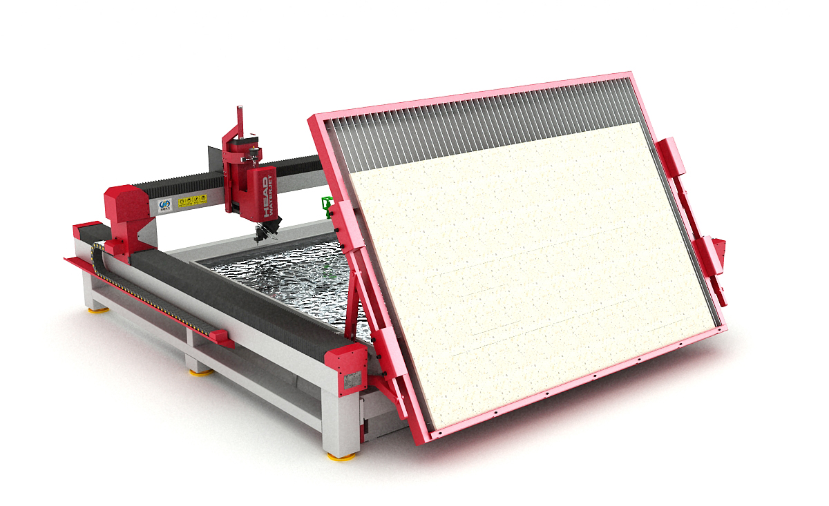 Ceramic Tile Waterjet Cutting Machine loading System