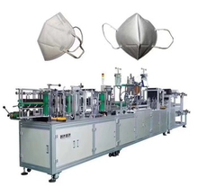 IN STOCK AUTOMATIC N95 Mask Making Machine One With Two Surgical medical Mask Machine